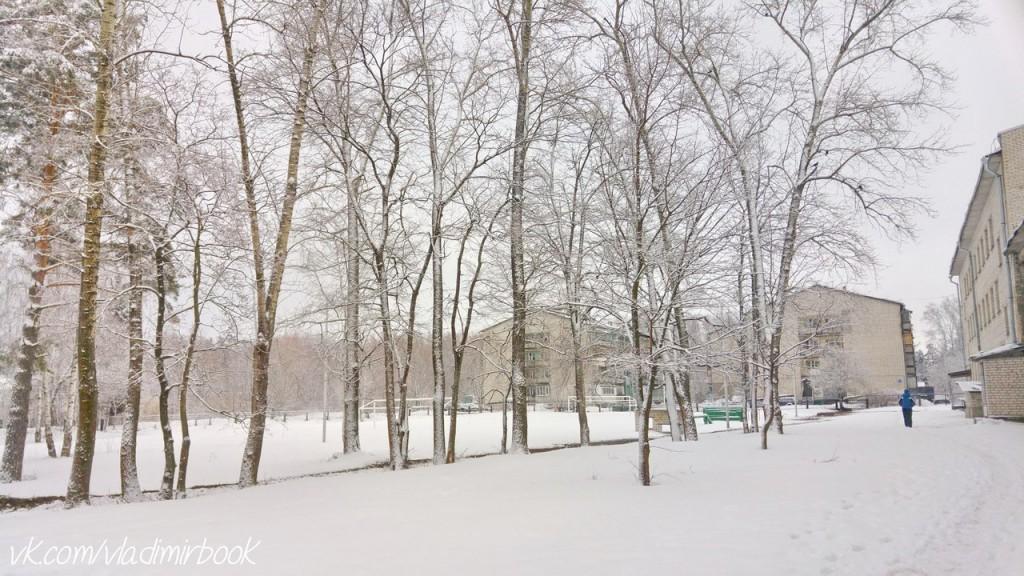 Вербовский, зима 07