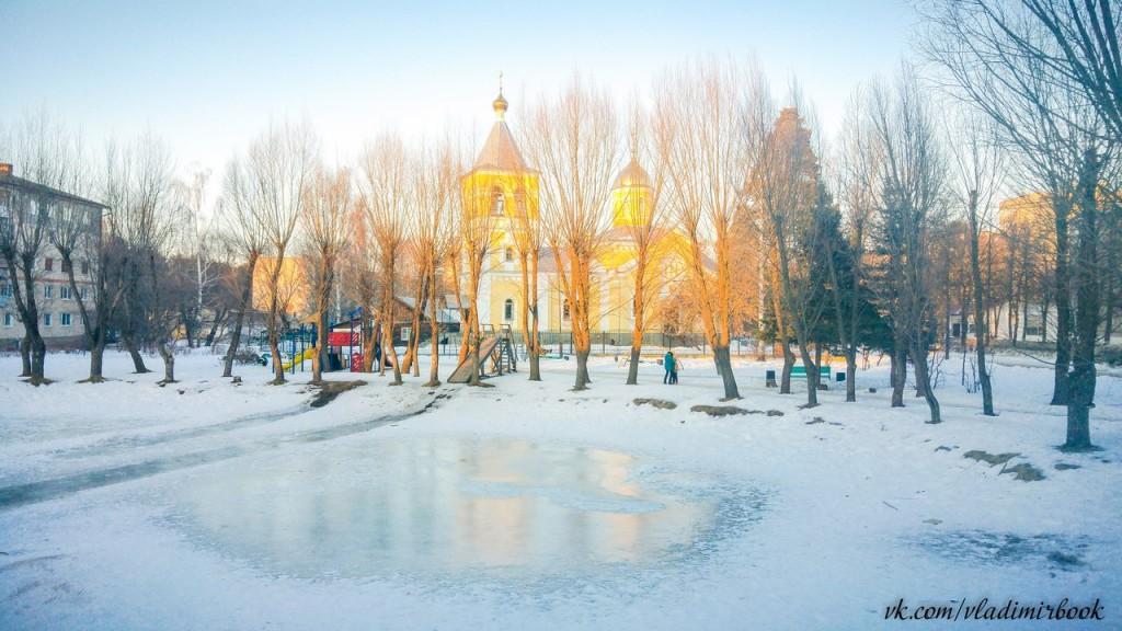 Вербовский поселок Церковь Андрея Первозванного