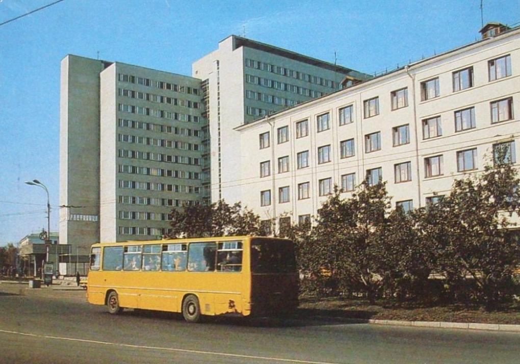 Владимирские Икарусы 80-х и один 70-х гг. 01