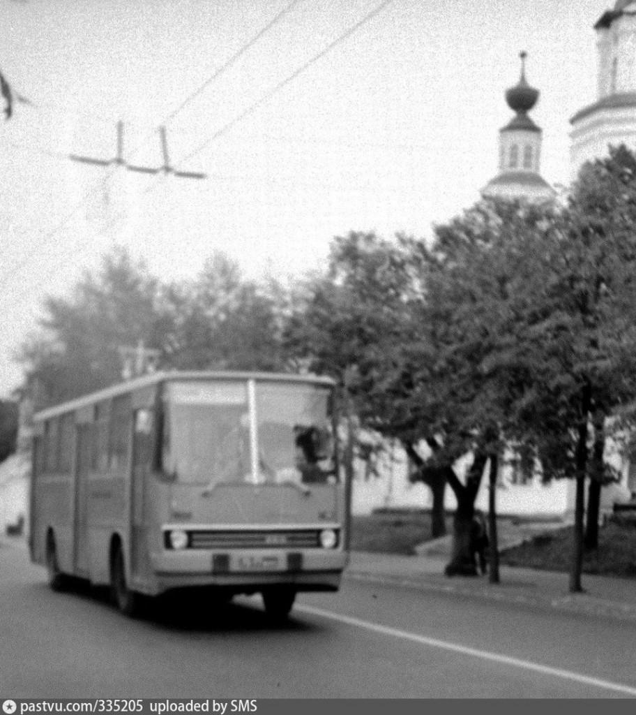 Владимирские Икарусы 80-х и один 70-х гг. 02
