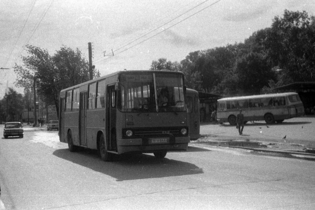 Владимирские Икарусы 80-х и один 70-х гг. 03