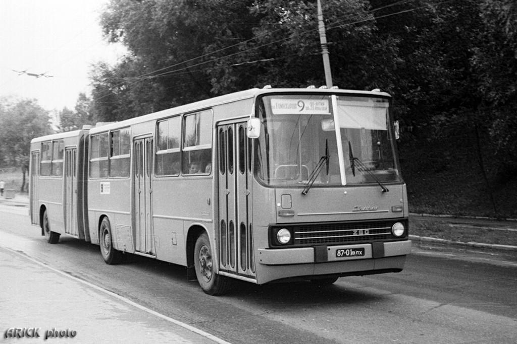 Владимирские Икарусы 80-х и один 70-х гг. 05