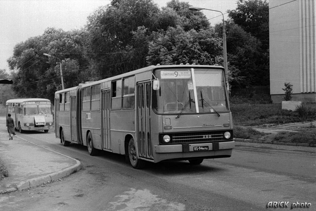 Владимирские Икарусы 80-х и один 70-х гг. 06