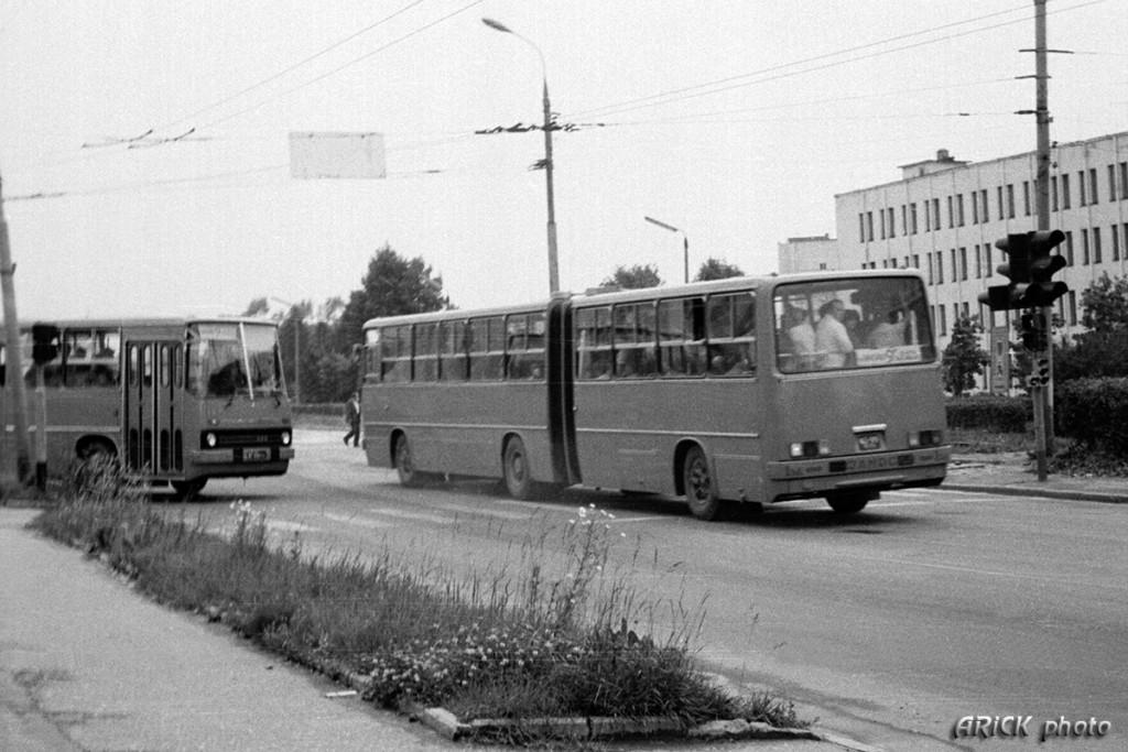 Владимирские Икарусы 80-х и один 70-х гг. 07