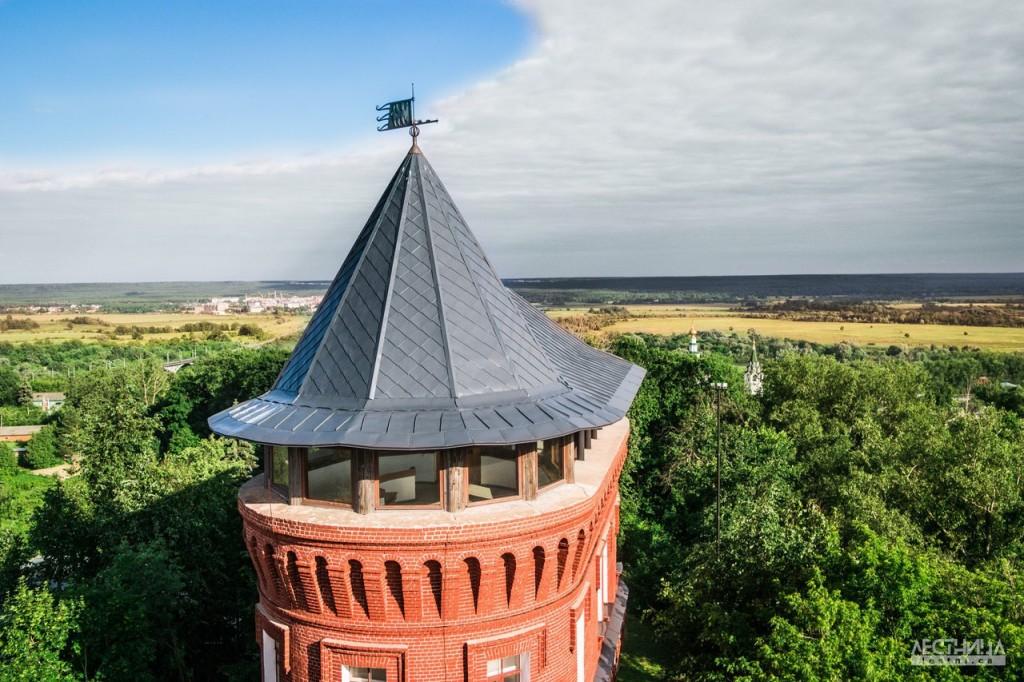 Водонапорная башня во Владимире и музей Старый Владимир