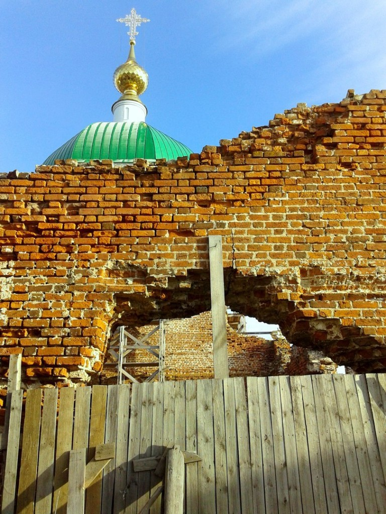 Восстановление Храма, основанного Илией Муромцем 02