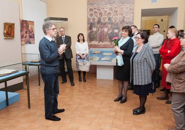 Выставка «Переводы с греческого» в Палатах 04