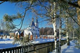 Вязниковский р-н, станция Мстёра, действующая Церковь