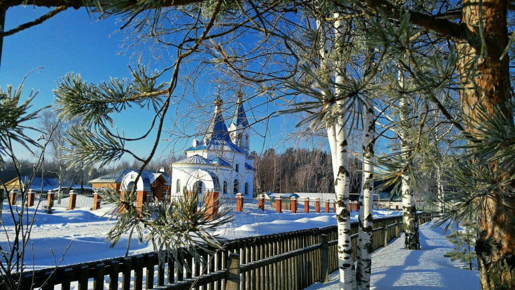 Вязниковский р-н, станция Мстёра, действующая Церковь 01