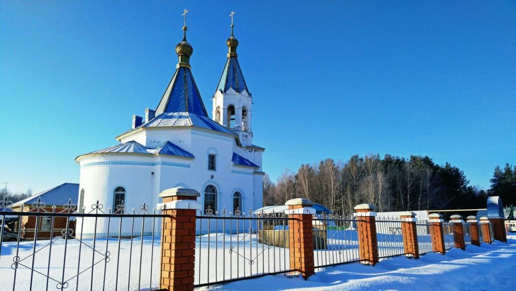 Вязниковский р-н, станция Мстёра, действующая Церковь 02