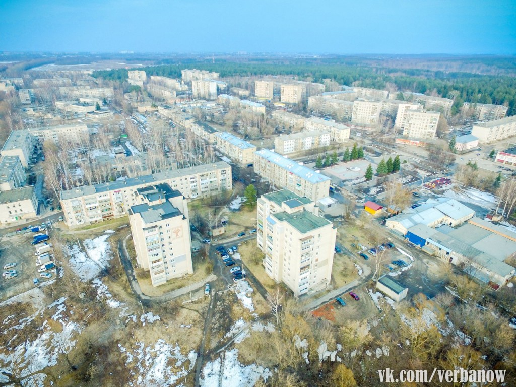 Городская среда Вербовского (Март)