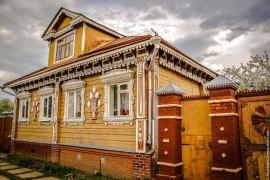 Декоративное убранство дома во Владимирском крае