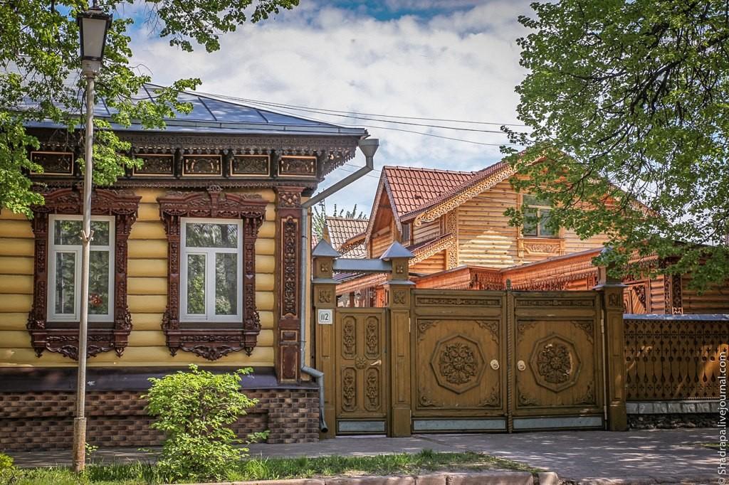 Декоративное убранство дома во Владимирском крае 02