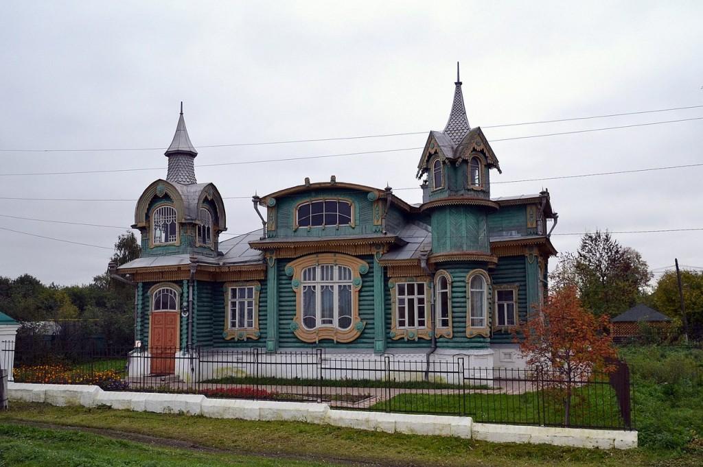 Дом М.И. Шорина. Гороховец. Владимирская область.