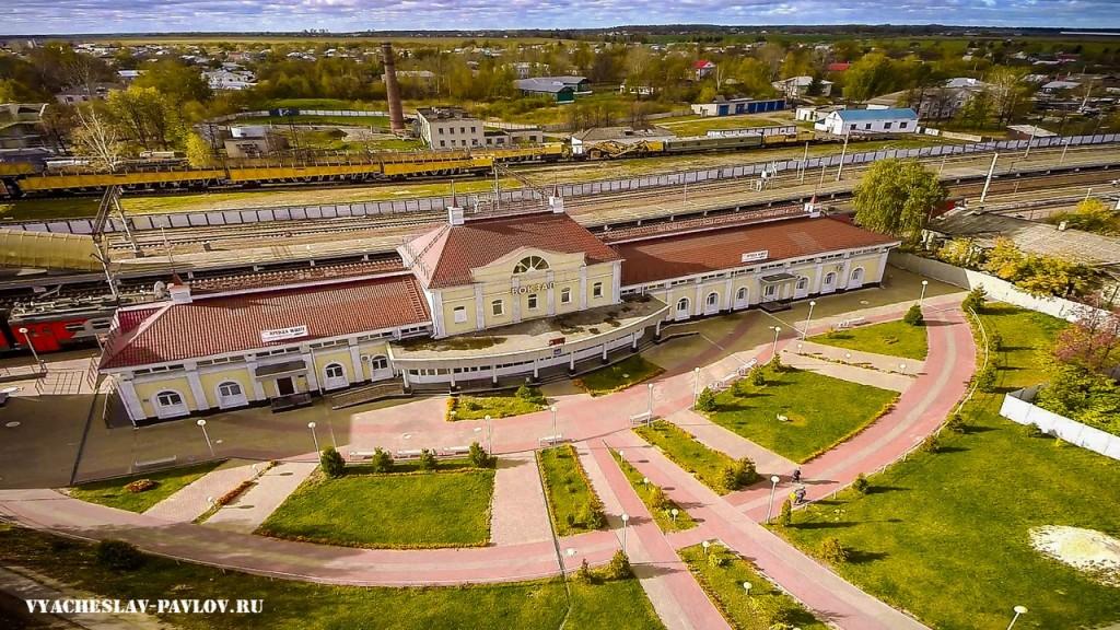 Железнодорожный вокзал г. Вязники 01
