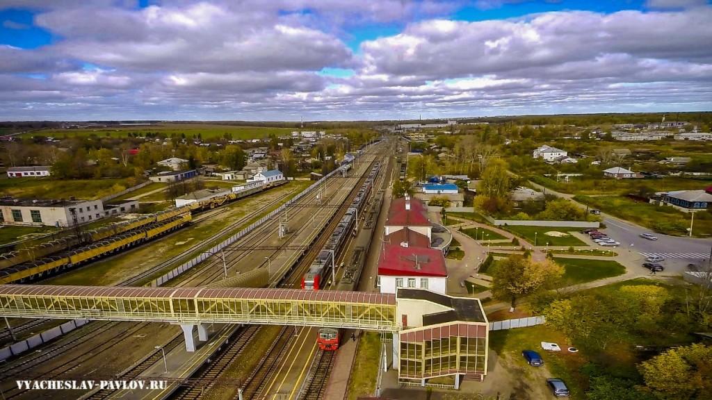 Железнодорожный вокзал г. Вязники 03