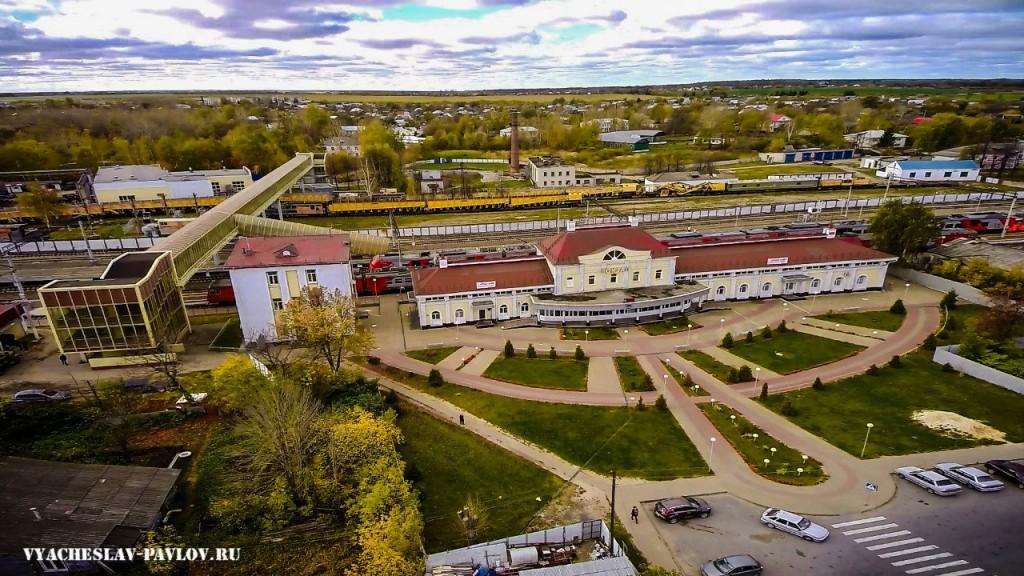 Железнодорожный вокзал г. Вязники 05