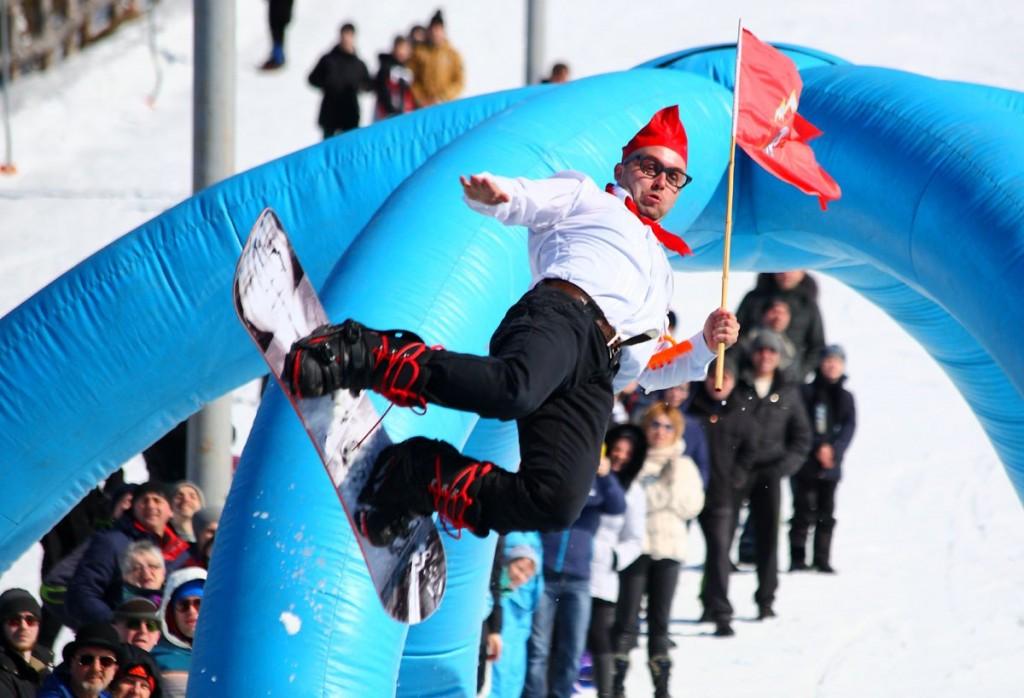 Закрытие горнолыжного сезона на Красной Горке 04