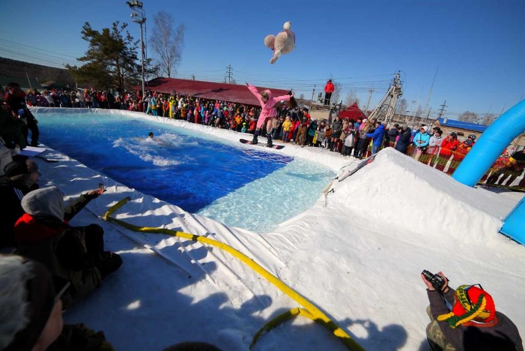 Закрытие горнолыжного сезона на Красной Горке 09