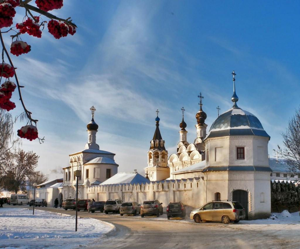 Зима в православном Муроме