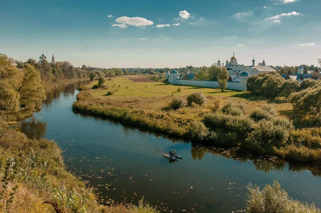 Красоты летнего Суздаля от Бориса Пучкова 08