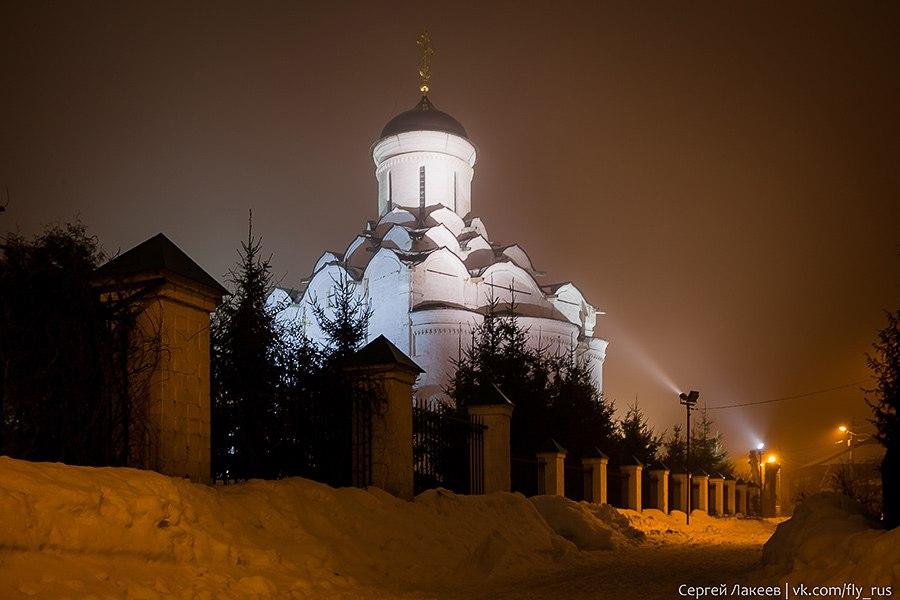 Мартовская ночь во Владимире 01