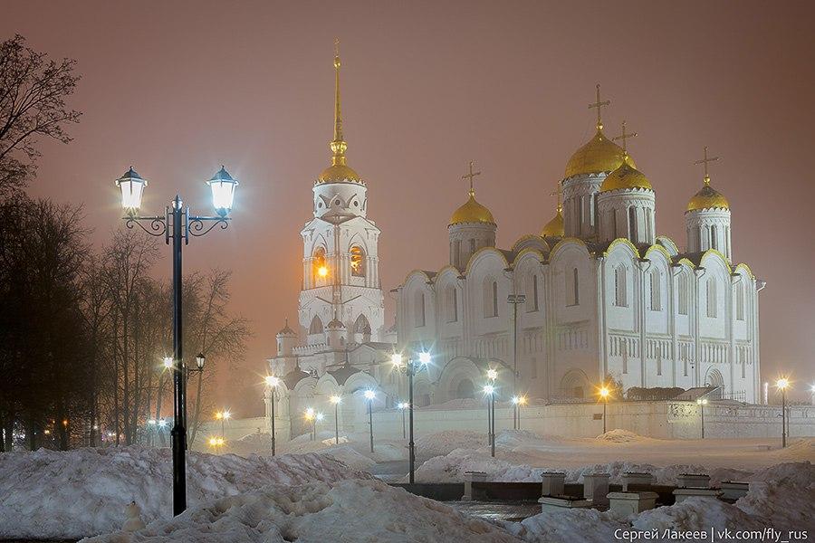 Мартовская ночь во Владимире 02
