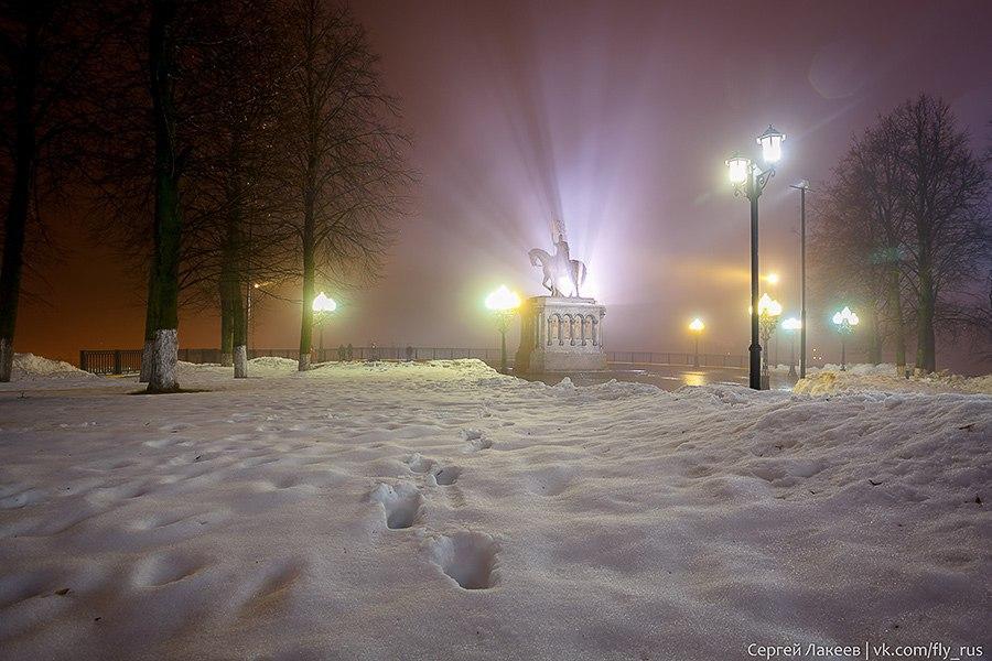 Мартовская ночь во Владимире 09