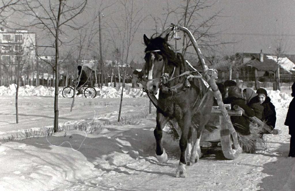 Масленица в городе Коврове в 60-е годы прошлого века 02