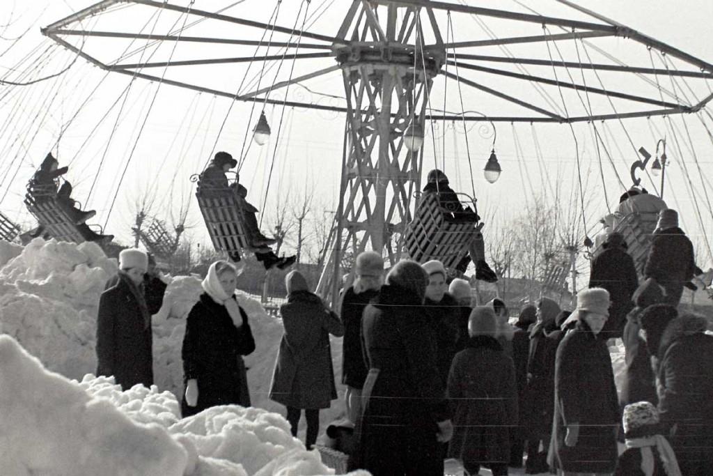 Масленица в городе Коврове в 60-е годы прошлого века 03