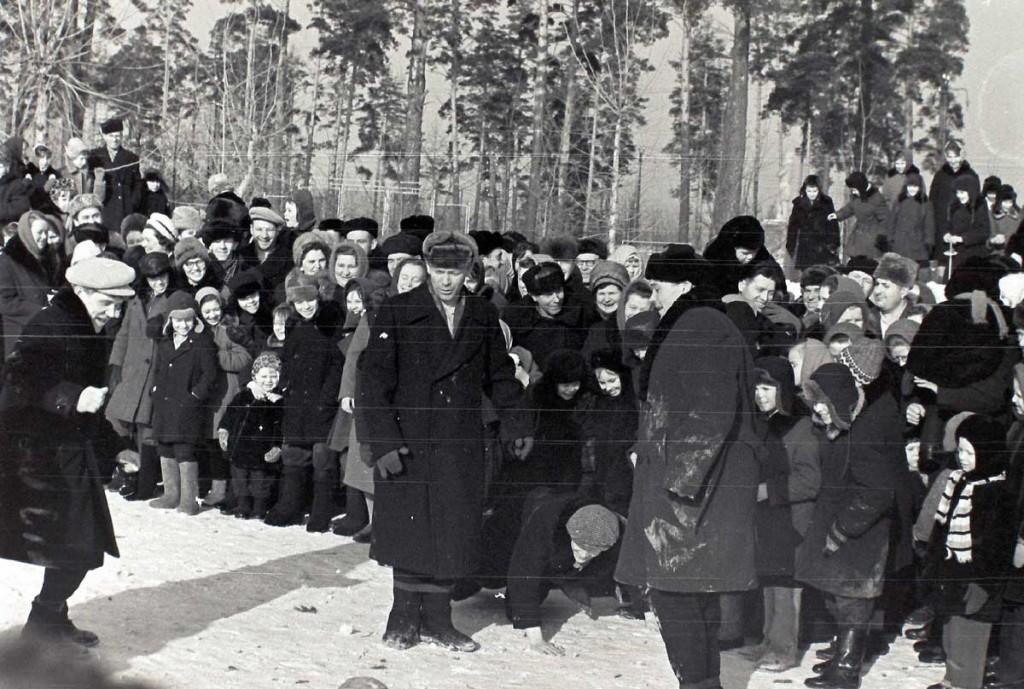 Масленица в городе Коврове в 60-е годы прошлого века 04