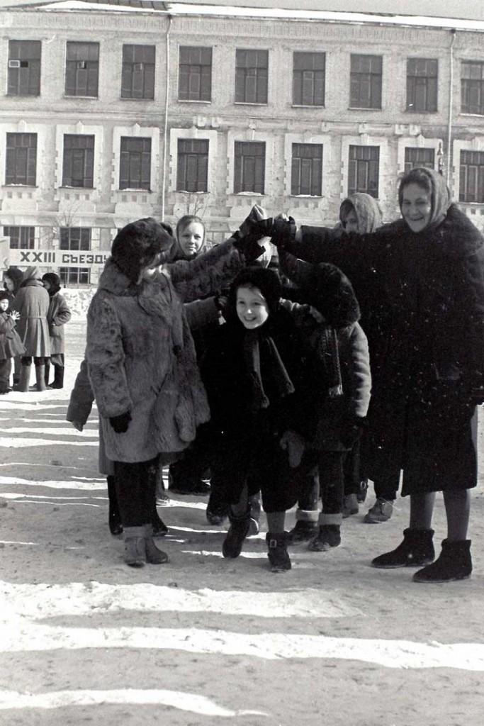 Масленица в городе Коврове в 60-е годы прошлого века 05