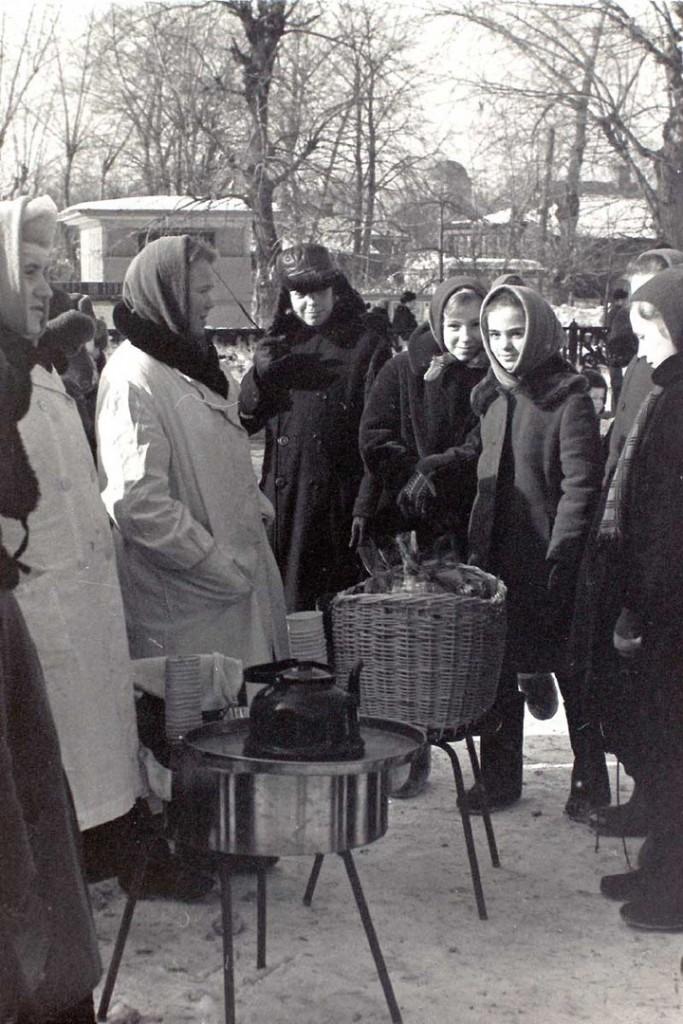 Масленица в городе Коврове в 60-е годы прошлого века 06