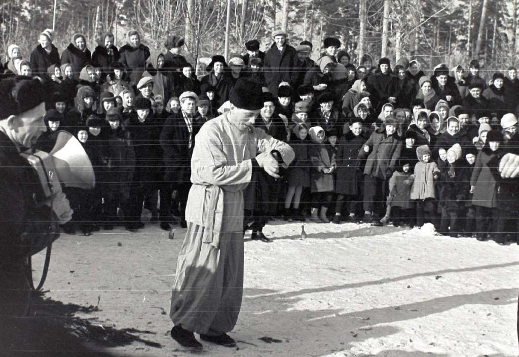 Масленица в городе Коврове в 60-е годы прошлого века 07