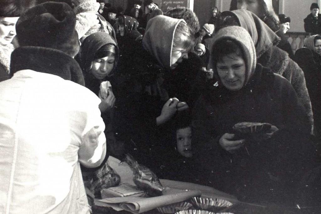 Масленица в городе Коврове в 60-е годы прошлого века 08