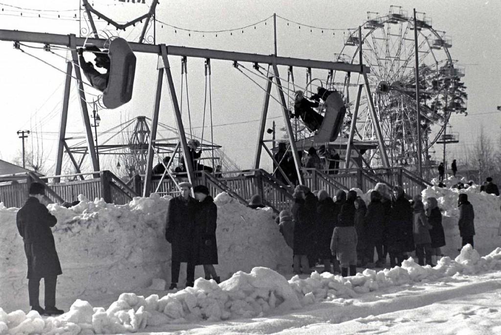 Масленица в городе Коврове в 60-е годы прошлого века 10