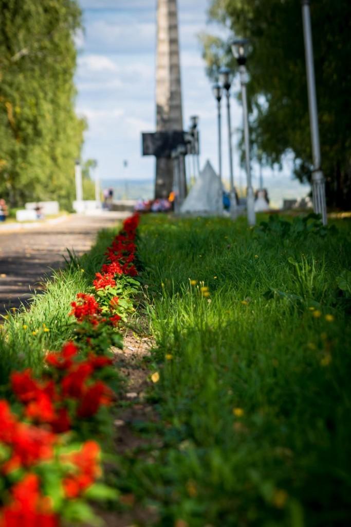 Мемориал - Аллея Боевой Славы в г. Вязники 03