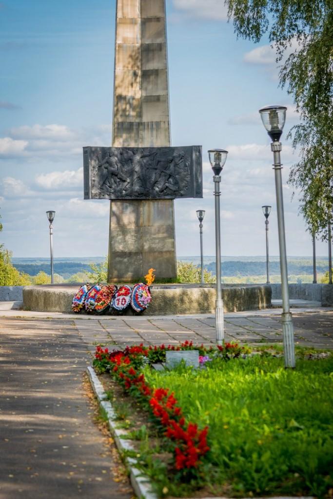 Мемориал - Аллея Боевой Славы в г. Вязники 04