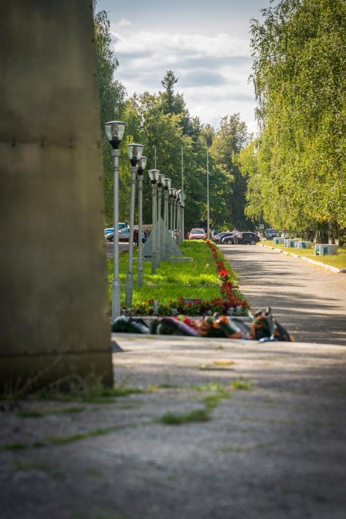 Мемориал - Аллея Боевой Славы в г. Вязники 05