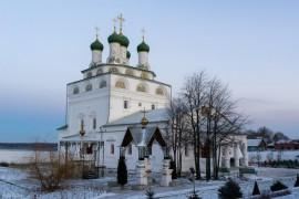 Мстёра. Богоявленский монастырь. Церковь Богоявления Господня, Владимирская церковь