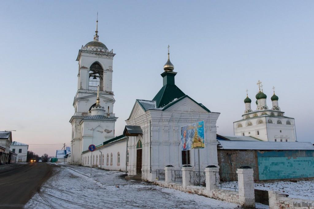 Мстёра. Богоявленский монастырь. Церковь Богоявления Господня, Владимирская церковь 02