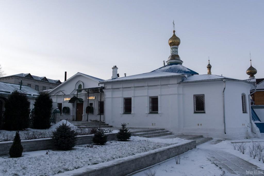 Мстёра. Богоявленский монастырь. Церковь Богоявления Господня, Владимирская церковь 04