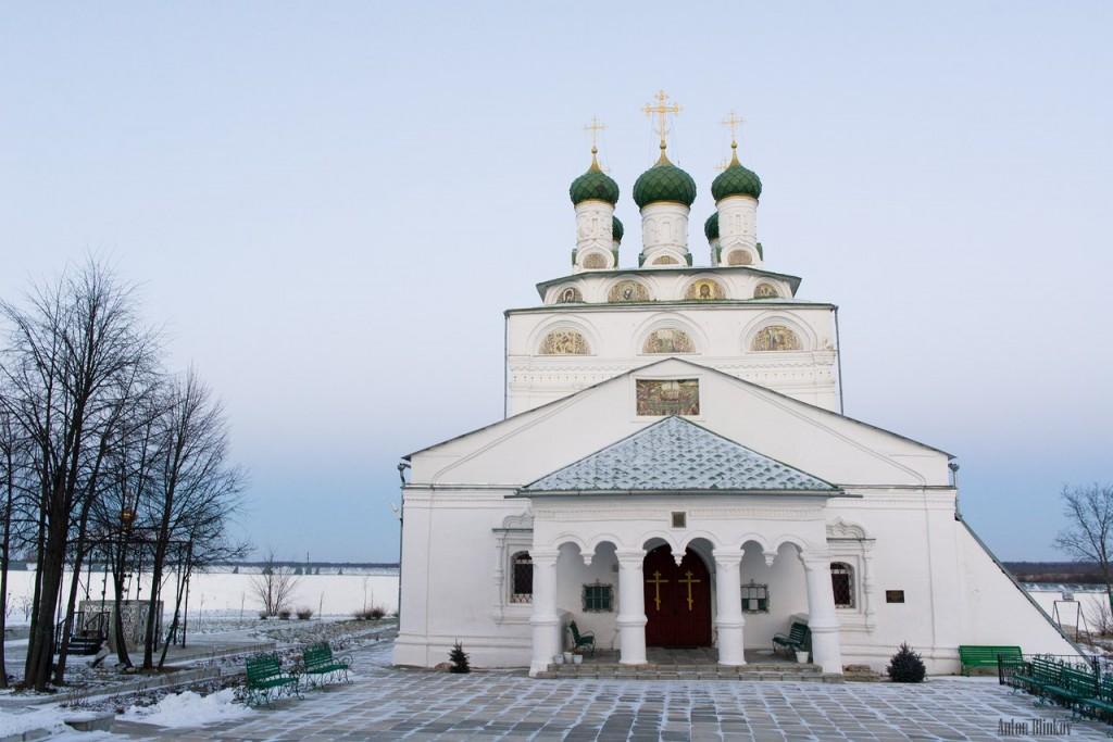 Мстёра. Богоявленский монастырь. Церковь Богоявления Господня, Владимирская церковь 06