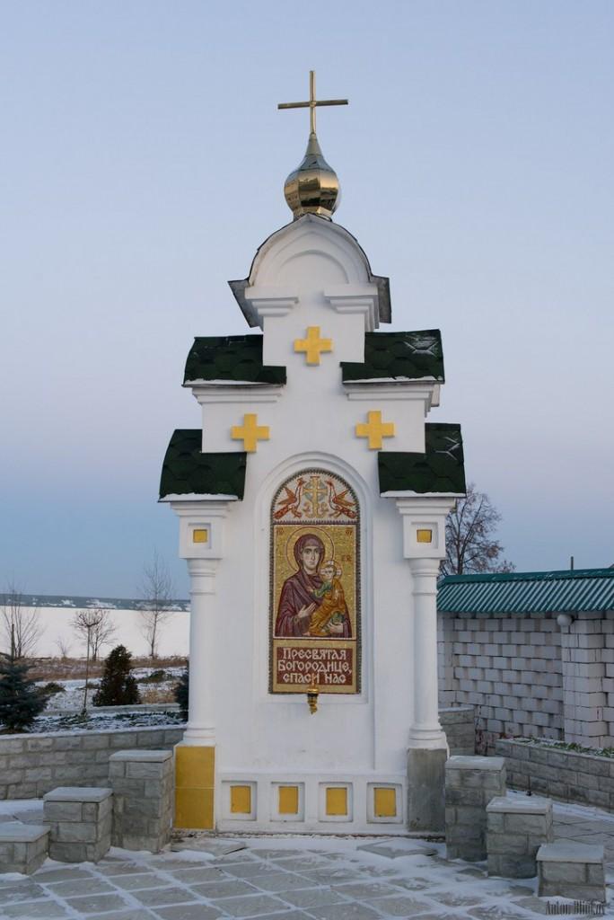 Мстёра. Богоявленский монастырь. Церковь Богоявления Господня, Владимирская церковь 07