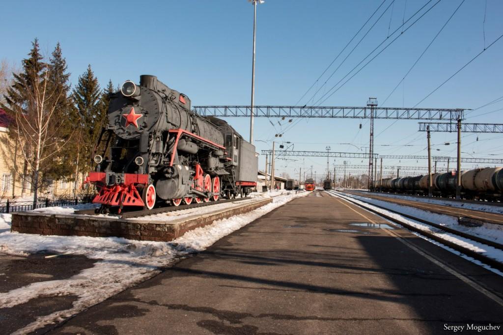 Муром. Зима. Железнодорожный вокзал 09