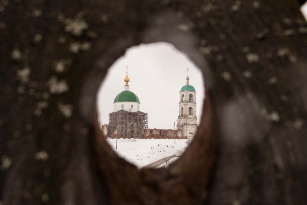 Муром. Зима. Село Карачарово 06