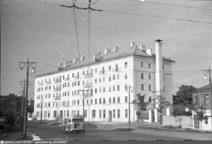 Новый дом на улице Пушкина 1958, Россия, Владимирская область, Владимир