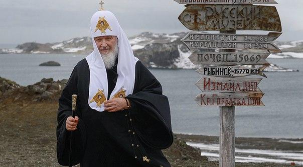 Ну понятно Патриарх... Но, Боже, Красная Горбатка в Антарктиде!!!
