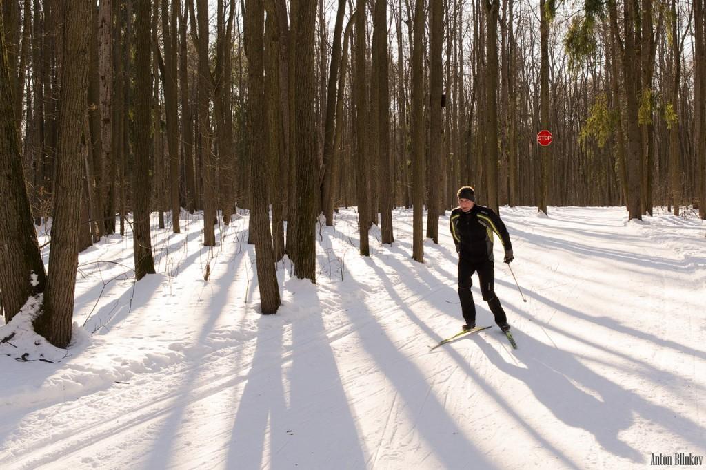 Парк Дружба. Прогулка по лыжне Алексея Прокуророва 01