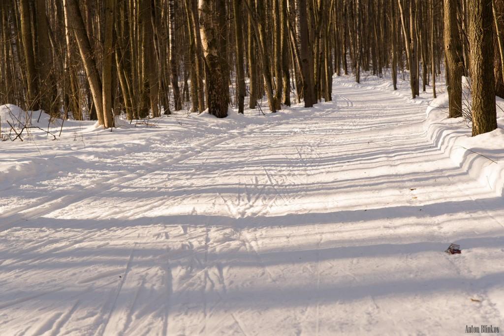 Парк Дружба. Прогулка по лыжне Алексея Прокуророва 07